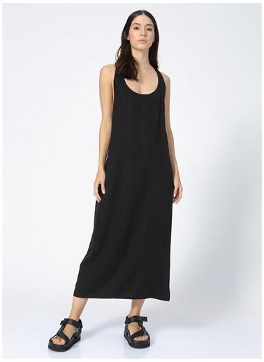 Black On Black Black On Black Elbise Siyah